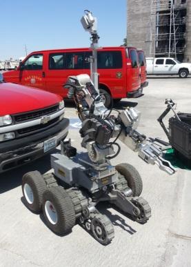 LVFD Bomb Squad Robot